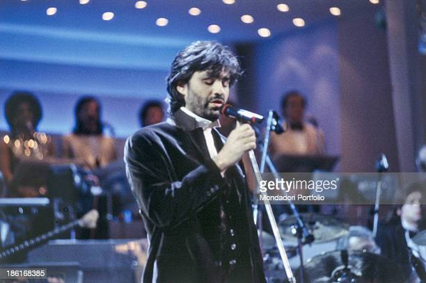 Blind Italian Tenor Stock Photos and Pictures