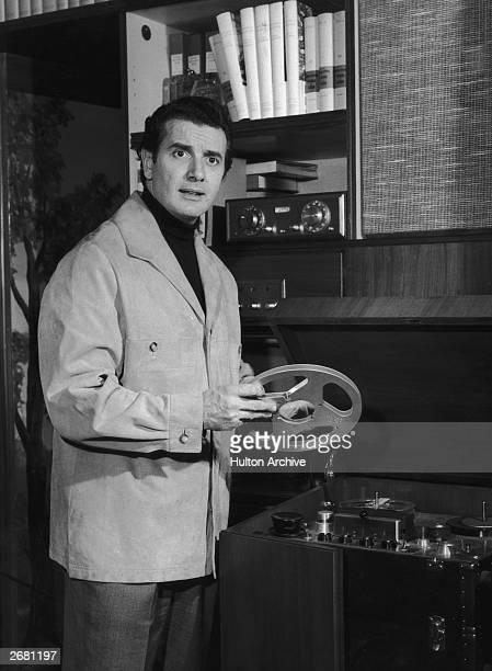 Italian tenor Franco Corelli circa 1965