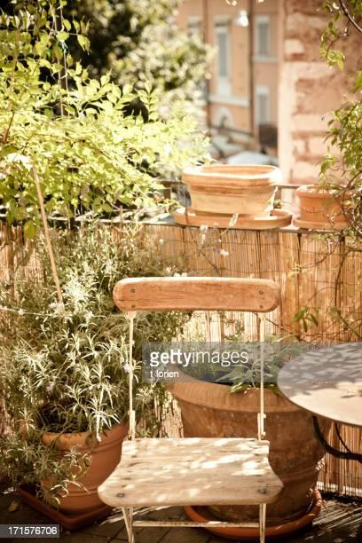 Italienische Terrasse