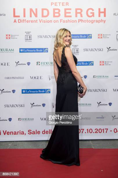 Italian TV actress and former model Natasha Stefanenko attends the opening gala of 'A Different Vision On Fashion Photography' By Peter Lindbergh...