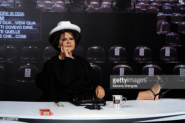 Italian Tv show Quelli che il calcio aired on Septemberr 13 2009 in Milan Italy