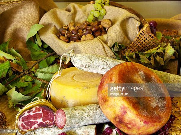 italian typical foods - umbria stock pictures, royalty-free photos & images