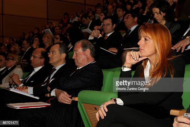 Italian undersecretary of Tourism, Michela Vittoria Brambilla attends 'Altagamma: scenari 2009' press conference on March 30, 2009 in Milan, Italy....