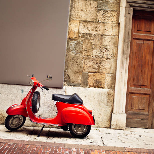 Italian Vintage red Scooter