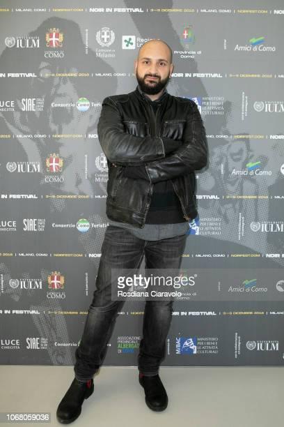 Italian Visual Effects Alessandro Sabbioni attends Noir In Festival on December 3 2018 in Milan Italy