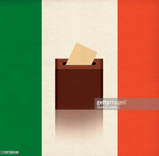 italian vote - ballot box stock pictures, royalty-free photos & images