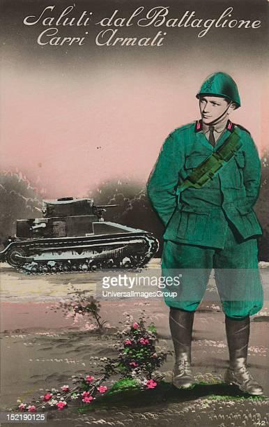 Italian World War One postcard
