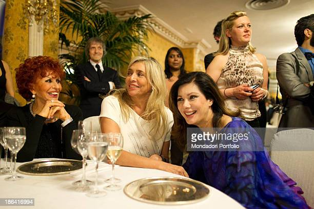 Italian writer and singer Maria Scicolone Italian TV presenter and actress Mara Venier Frenchborn Italian actress and producer Edwige Fenech and...