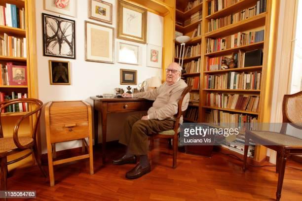 Italian writer Andrea Camilleri Rome Italy 2011