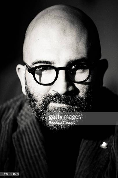 Italian Writer Donato Carrisi poses during the Noir In Festival on December 10 2016 in Como Italy