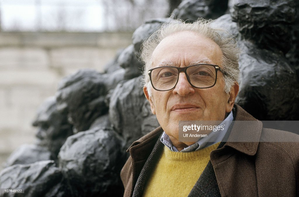 Luigi Malerba Portrait Session : News Photo