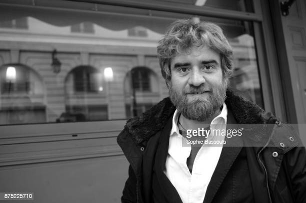 Italian Writer Paolo Cognetti in Paris, after receiving the Prix Medicis Etranger, 9th November 2017
