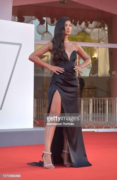 Italian youtuber Elisa Maino at the 77 Venice International Film Festival 2020. Nomadland red carpet. Venice , September 11th, 2020