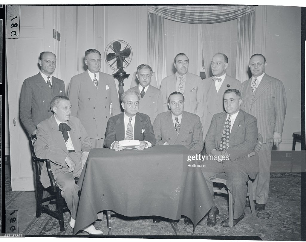 Italian-American Leaders : News Photo