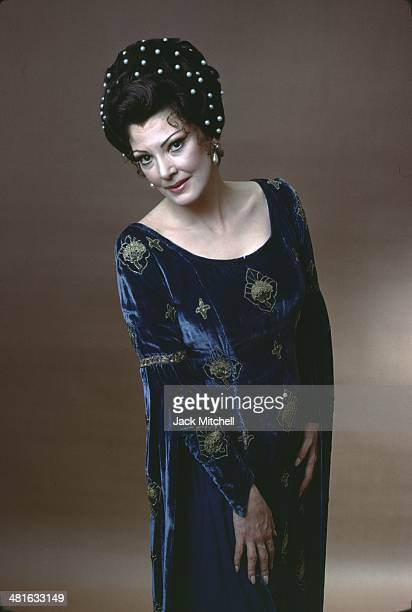 ItalianAmerican opera singer Anna Moffo photographed in New York City in 1977