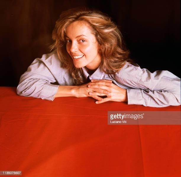 ItalianAustralian actress Greta Scacchi Rome Italy 1986
