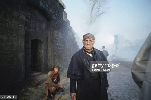 Italianborn actor Lino Ventura as Jean Valjean in 'Les Misérables' directed by Robert Hossein 10th March 1982