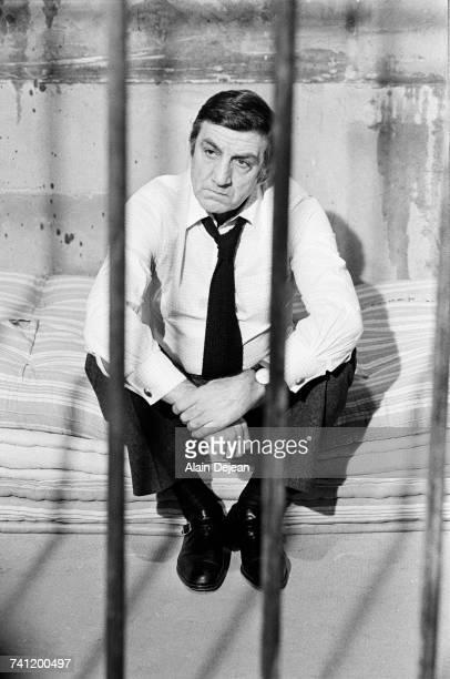 Italianborn actor Lino Ventura as Julien in a scene from 'La Cage' directed by Pierre GranierDeferre 1975