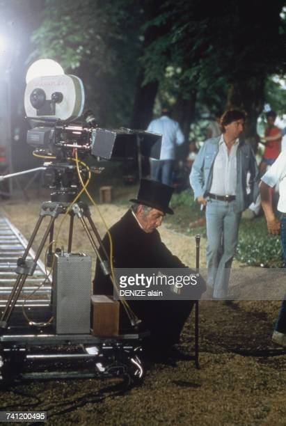 Italianborn actor Lino Ventura on the set of 'Les Misérables' directed by Robert Hossein 10th March 1982 Ventura plays Jean Valjean in the film