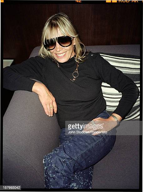 Italianborn actress and model Anita Pallenberg circa 2000