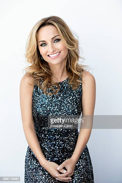 Italianborn American chef writer and television personality Giada De Laurentiis is photographed for Viva on July 8 2015 in Los Angeles California...