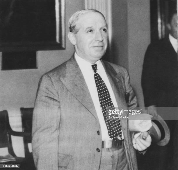 Italianborn American swindler Charles Ponzi around the time of his release from jail Boston Massachusetts 1934 Ponzi served 14 years for mail fraud...