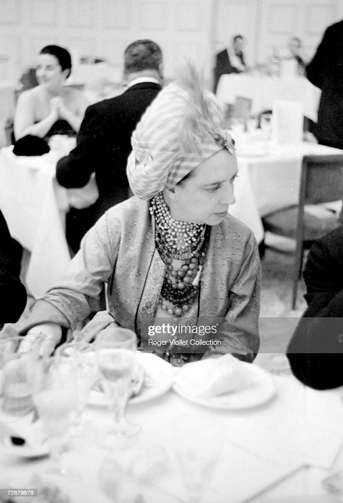 Italian Born French Fashion Designer Elsa Schiaparelli Wears A Turban News Photo Getty Images