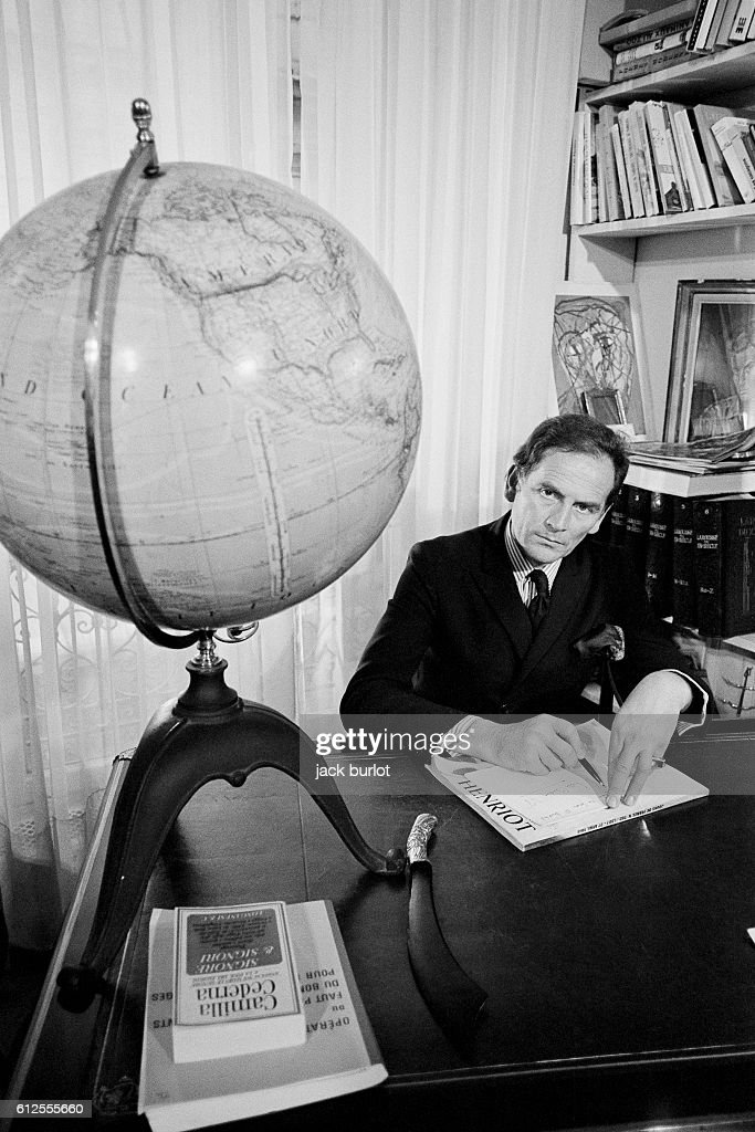 Italian Born French Fashion Designer Pierre Cardin At Home News Photo Getty Images