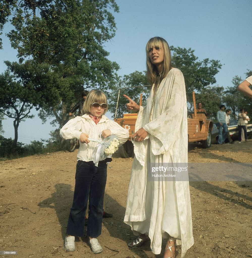 Italian-born German actress Anita Pallenberg, whose films were less publicised than her relationships with three of the Rolling Stones.