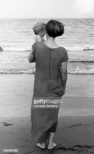 Italian-English actress Greta Scacchi, Vieste, 18th August 1999.