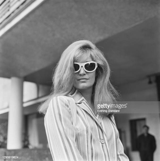 Italian-French singer and actress Dalida , UK, 26th July 1966.