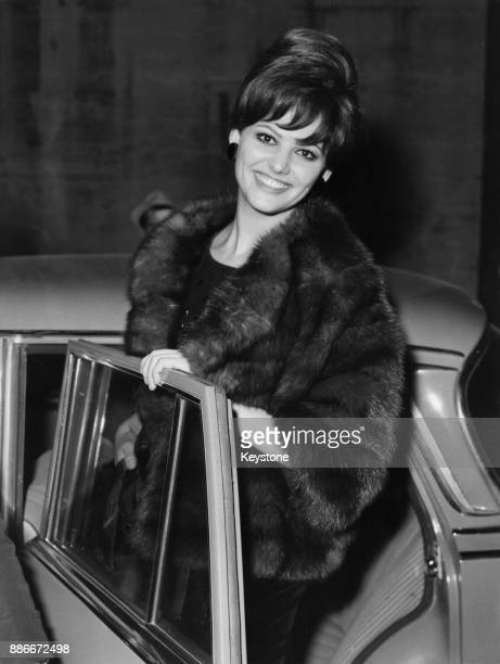 Italian-Tunisian actress Claudia Cardinale attends the premiere of the film '8 ½' in Rome, Italy, February 1963. She stars in the film, which was...