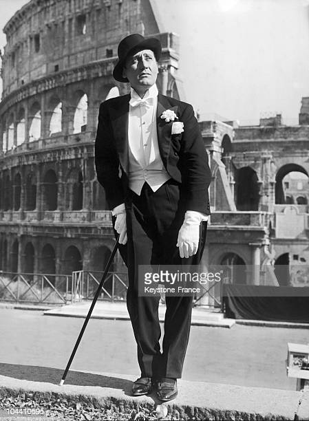 Italien actor Alberto SORDI as Gastone, the famous sketch created by Ettore PETROLINI is filmed starring Alberto SORDI on October the 9th 1959.
