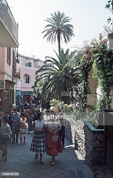 Italien ca 1958 Capri