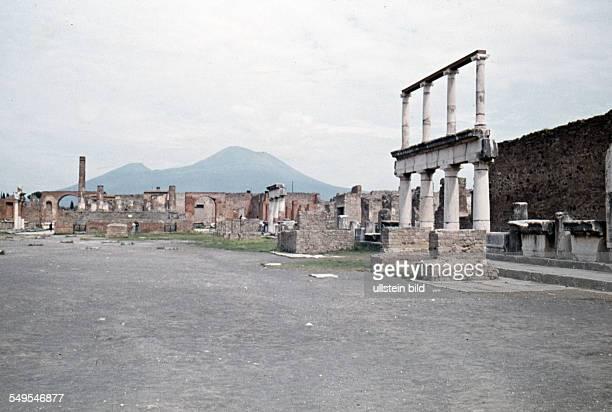 Italien ca 1958 Pompeji
