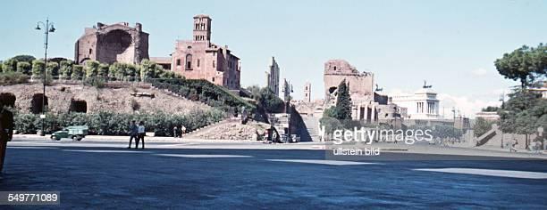 Italien ca 1958 Rom Forum Romanum