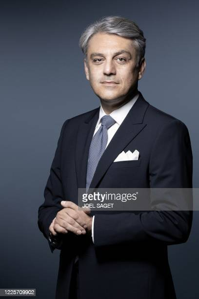 Italien chief executive Luca de Meo of French carmaker Renault poses during a photo session in Paris, on July 7, 2020.
