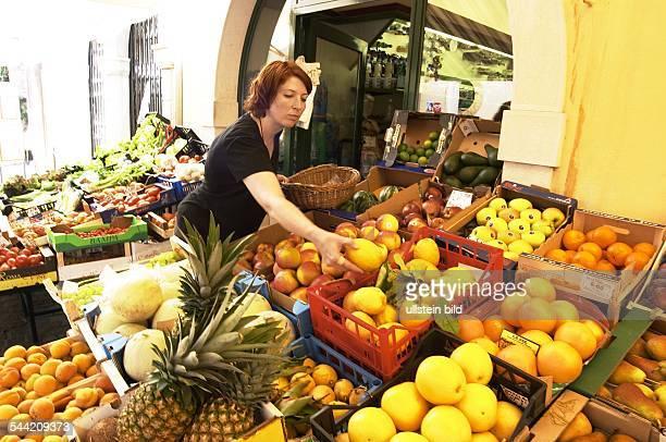 Gardasee Obst und Gemüsehandlung in Torri del Benaco