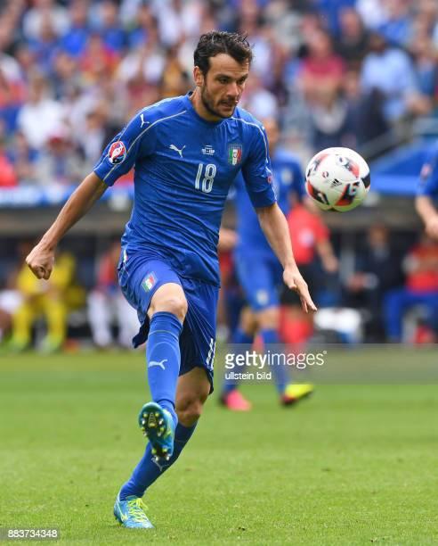 FUSSBALL Italien Spanien Riccardo Montolivo