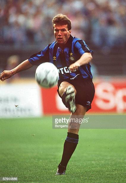 Italienische Liga 91/92 INTER MAILAND Lothar MATTHAEUS
