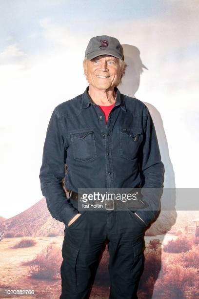 ItalienUS actor Terence Hill attends the premiere of 'Mein Name ist Somebody Zwei Faeuste kehren zurueck' at Zoopalast on August 21 2018 in Berlin...