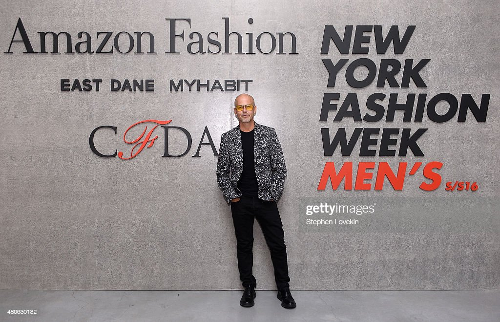 Italo Zucchelli attends New York Men's Fashion Week kick off party hosted by Amazon Fashion and CFDA at Amazon Imaging Studio on July 13, 2015 in Brooklyn, New York.