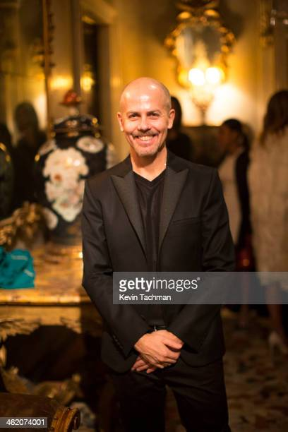 Italo Zucchelli Creative Director of Calvin Klein Collection attends the Calvin Klein Collection after party as a part of Milan Fashion Week Menswear...