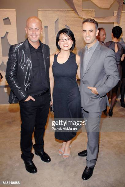 Italo Zucchelli Jean Shin and Francisco Costa attend CALVIN KLEIN COLLECTION LOS ANGELES NOMADIC DIVISION CELEBRATE LA ARTS MONTH ART LOS ANGELES...