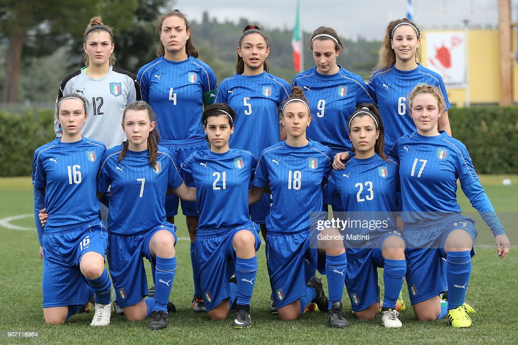 Italy U16 Women v Slovenia U16 Women - Friendly Match