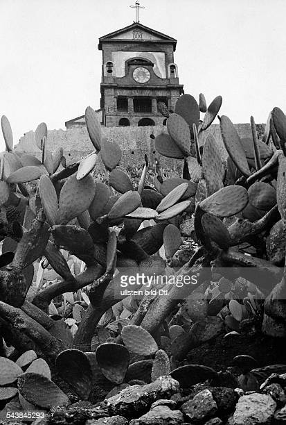 Italy 18611945 Sicilia Palermo Monreale Church of 'Madonna delle Croci' exterior view around 1930 Photographer Franz Fiedler Published by 'Der...