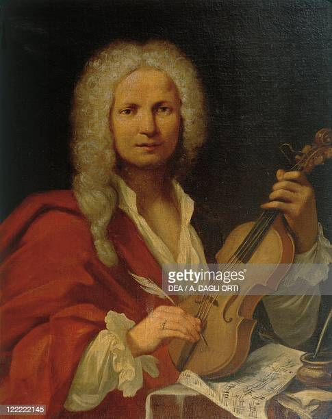 Italy 18th century Portrait of Antonio Vivaldi Italian composer and violinist