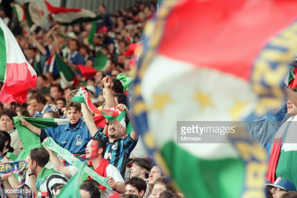 Italy 21 Russia Euro 1996 Group C match at Anfield Liverpool Tuesday 11th June 1996