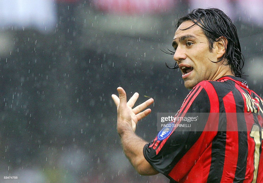 AC Milan's defender Alessandro Nesta rea : News Photo