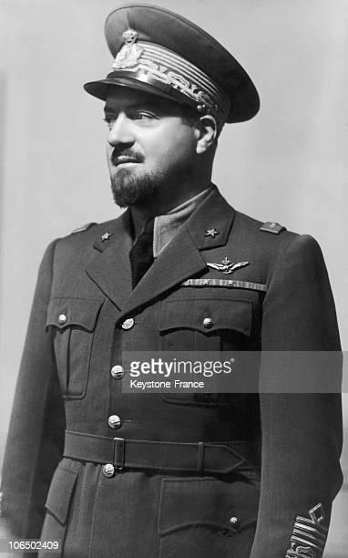 Italy Air Force Marshal Italo Balbo 1930'S